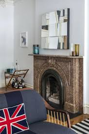grey marble fireplace surround tiles hearth view gallery brown