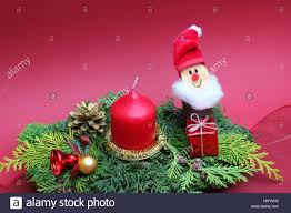 candle nicholas christmas decorations homemade floristics