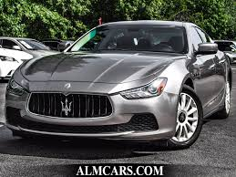 maserati gray 2014 used maserati ghibli 4dr sedan at alm gwinnett serving duluth