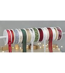 ribbon spools pack of 15 christmas ribbon spools studio
