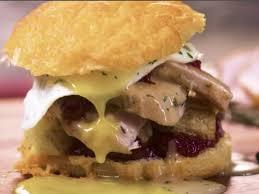 thanksgiving turkey biscuit sandwiches recipe food network