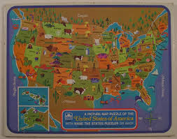 United States Map Puzzle by Golden Picture Map Puzzle Of The Usa 1968 Tom Flickr