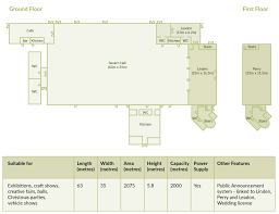 exhibition venues venue hire