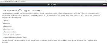 Talktalk Help Desk Telephone Number Talk Talk Hacked U2013 Is Your Information Safe U2013 On The Commute