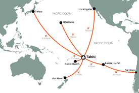 polynesia map of world how to get to tahiti and polynesia travel nation