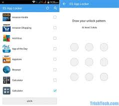 app locker android lock apps with es app locker in android