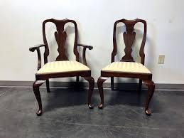 Pictures Of Queen Anne Chairs by Henkel Harris Mahogany Queen Anne Dining Chairs Set Of 6 Ebay