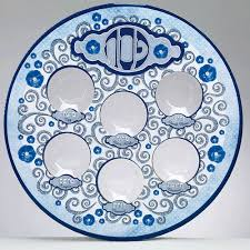 sader plate style disposable seder plate