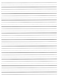 printable wide lined handwriting paper kids first grade writing paper printable best writing page best