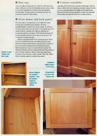 Break Front Bookcase Classic Breakfront Bookcase Plans U2022 Woodarchivist
