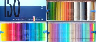 prismacolor pencils 150 holbein artists colored pencils 150 set a review colouring in