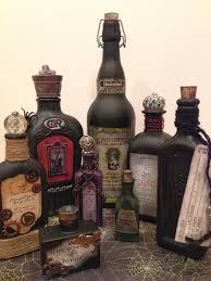 potion bottles for halloween amateur craft hour 2nd annual hansen halloween