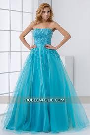 robe de mariã e bleue robe habillée pour mariage bleu flashy bustier pailleté avec jupe