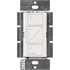 lutron caseta wireless 600 150 watt single pole in wall dimmer