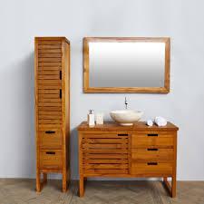 bahtroom tiny storage beside vanity plus bowl wash basin under