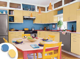modern kitchen design yellow 12 kitchen cabinet color ideas two tone combinations this