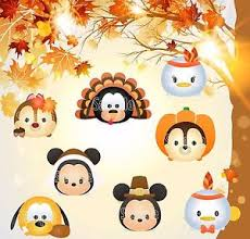 disney thanksgiving mickey mouse tsum tsum cruise stateroom door