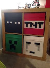 minecraft bedroom drawers love ikea hacks minecraft