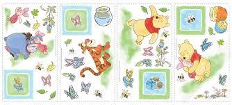winnie the pooh thanksgiving room mates deco winnie the pooh toddler wall decal u0026 reviews wayfair