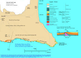 Map Key Definition Cyprus Salt Lake And Coast Of A Southern Peninsula Geological