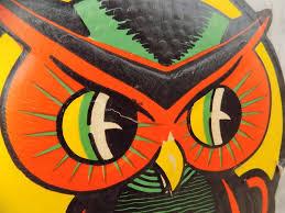 vintage beistle co owl decoration u2013 jinxed