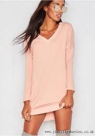 amira pink v neck pocket jumper dress dresses 29015 khaki