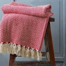jeté de canapé en jeté de canapé indien pur coton artisanat indien par pankaj eboutique