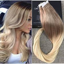 ombre hair extensions uk shine 18 20 pcs 50 gram per package color 6