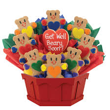 get well soon cookies get well soon cookie bouquet cookies by design