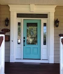 my new front door in a turquoise color benjamin moore 669