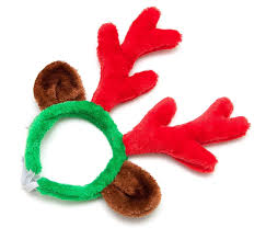 christmas reindeer christmas reindeer antlers with ears for large dogs