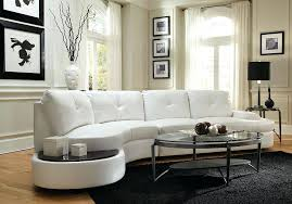 Sofa Canada Sectional Talia Modern Rounded Home Theater Sectional Modern