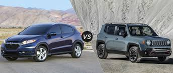 2016 jeep renegade honda hr v vs 2015 jeep renegade