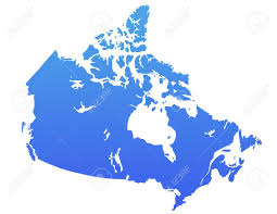 Us Canada Map Canada Map Atomjet Agriculture Vector Map Of Canada Stock Image
