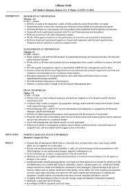 hvac technician resume exles hvac technician resume sles velvet