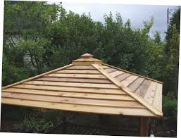 Homemade Gazebo Roof by Gazebo Roof Cap Roofing Decoration
