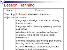 unit 4 lesson planning objectives ppt video online download