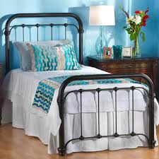 similar 650 braden iron bed by wesley allen black suede