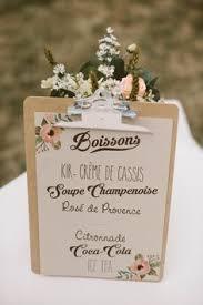 idee menu mariage idée déco table mariage bleu ciel ivoire blanc bougie original