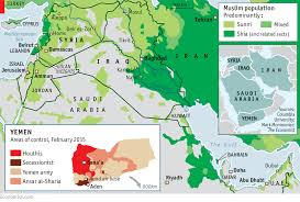 Political Map Of The Middle East by The Shia Crescendo