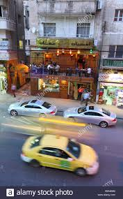 mercedes downtown amman downtown area city streets of car mercedes