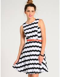 chevron striped skater dress 15 50 cheap trendy casual
