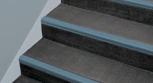 Abrasive Stair Nosing by Linear Series Stair Systems Product Burke Flooring