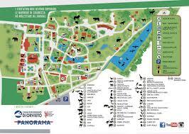 Map Of La Area Tickets Opening Times Map Giardino Zoologico Di Pistoia