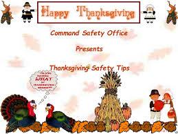 garrison safety message thanksgiving presentation 2011