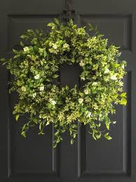 decorative wreaths for the home summer wreath for front door home design and pictures