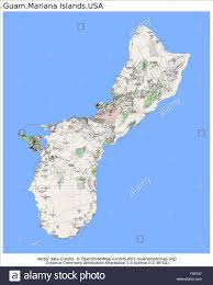 Country Map Usa by Guam Mariana Islands Usa Country City Island State Location Map