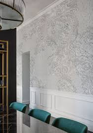 christian benini unfolds the secrets of wall deco wallpapers spolvero wallpaper designed by f zoboli for the contemporary collection 2017 wall deco wall wallpaperfabric