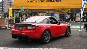 mazda roadster hardtop garage vary nc hardtop fastback for mx 5 nc rev9