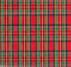 christmas plaid wrapping paper buy christmas plaid embossed gift wrapping paper 26 x30 roll